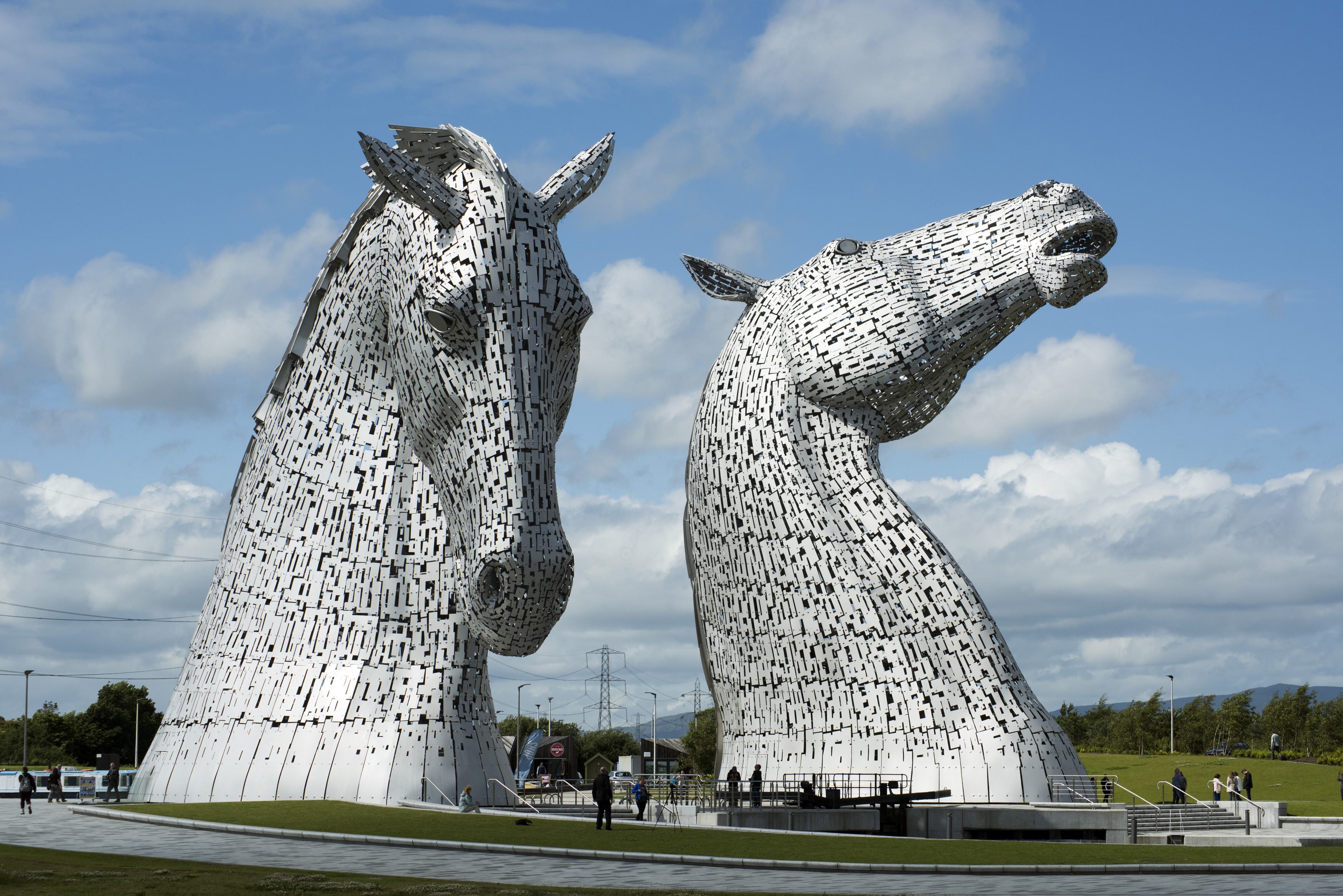 Free Stock Photo Of Kelpies Monuments In Falkirk, Scotland