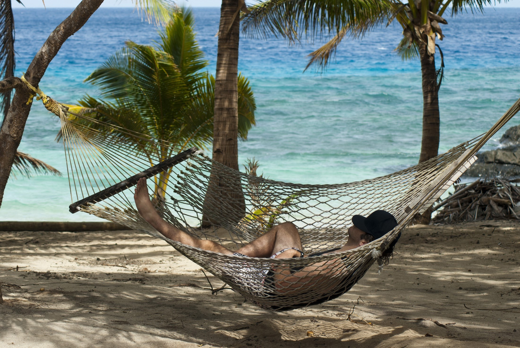Free Stock Photo Of Relaxing In A Hammock