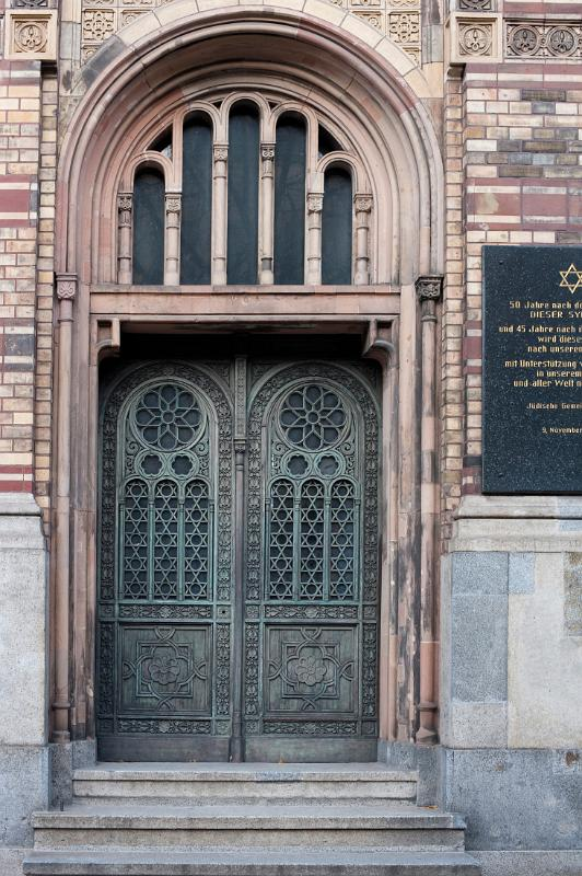 Free Stock photo of Neue Synagoge Door  Photoeverywhere