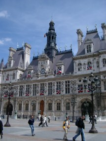 Hotel De Ville Paris City Hall