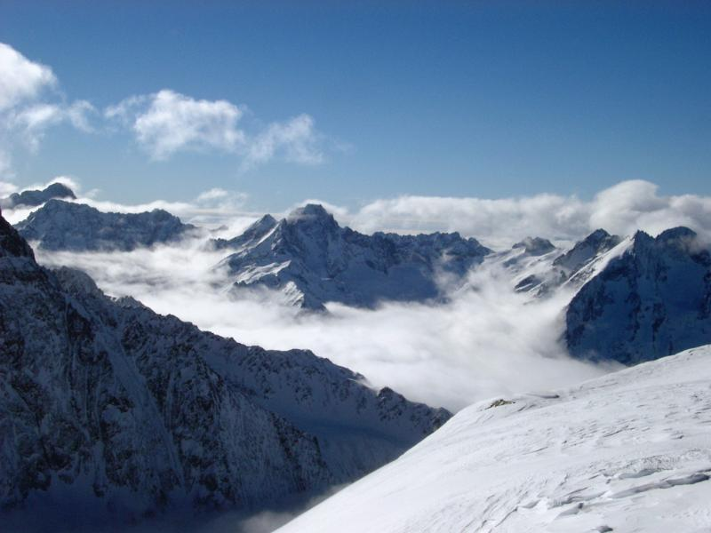 3d Cloud Wallpaper Free Stock Photo Of Snow Covered Mountain Peaks In France