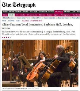Telegraph newspaper BBC Nov 2012