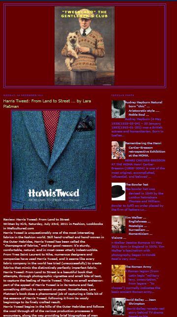 harris tweed gentlemans club