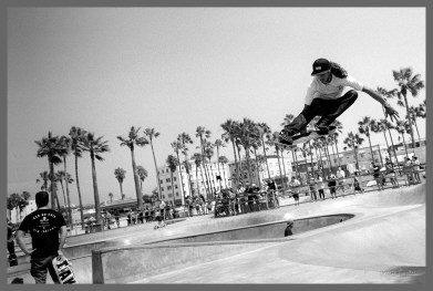 Skateboard Park #5, Venice Beach CA, ©2016 Reginald Foster, All Rights Reserved
