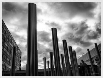 Steel, DTLA, Los Angeles, CA, ©2016 Reginald Foster, All Rights Reserved