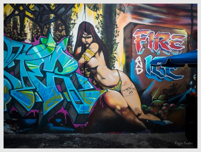 Art District Mural, Los Angeles, CA, ©2016 Reginald Foster, All Rights Reserved