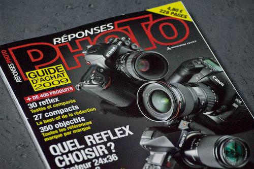 Toujours en kiosque : le guide d'achat Réponses Photo 2009