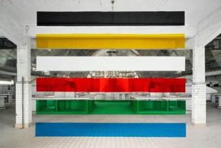 Georges Rousse, Reims, 2008 Tirage lambda 125 x 160 cm