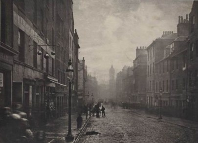 Thomas Annan, High Street Glasgow, Vers 1866 © Courtesy Bernard Quaritch, London