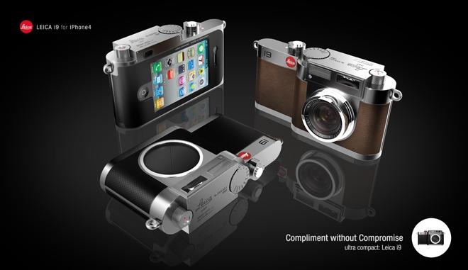 Leica i9 : le mariage de l'iPhone et du Leica