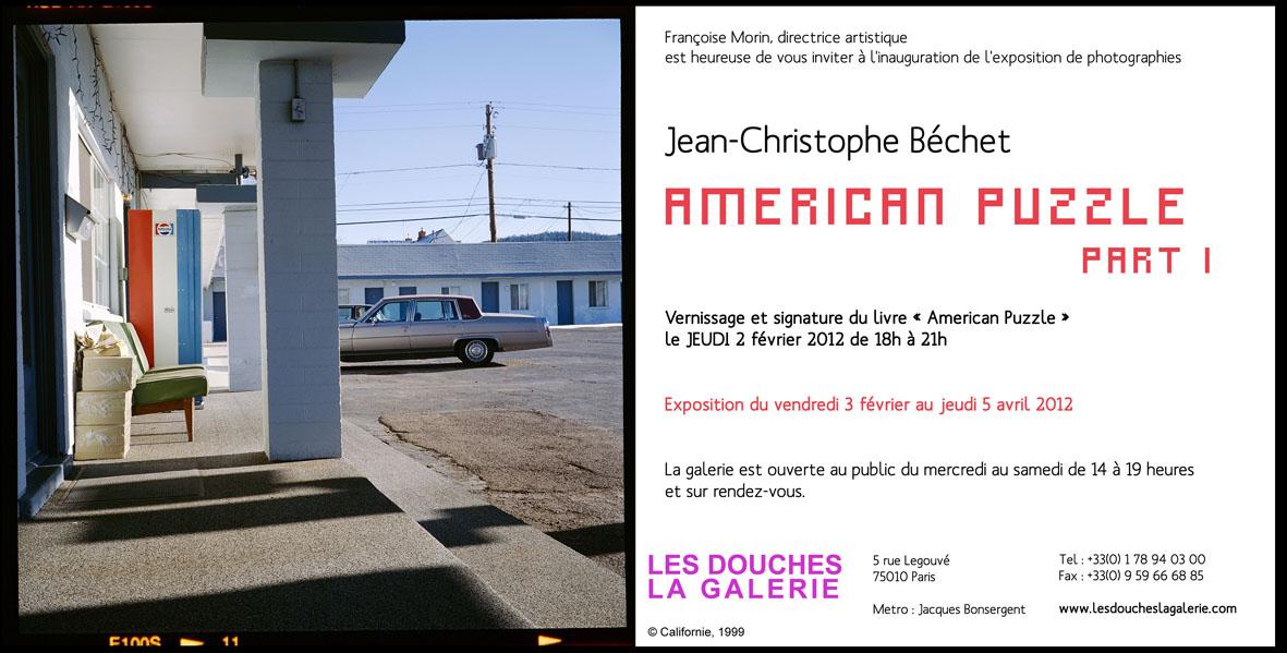 American Puzzle par Jean-Christophe Béchet