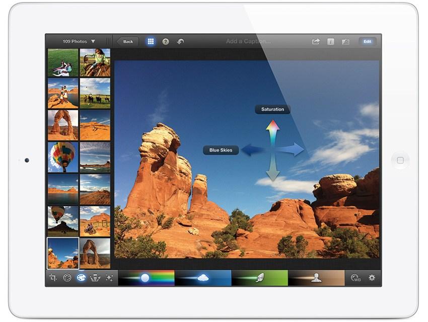 iPad et iPhoto