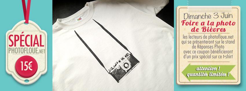 Bièvres : un t-shirt photo à prix spécial photofloue