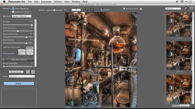 Aligning Handheld HDR Photos