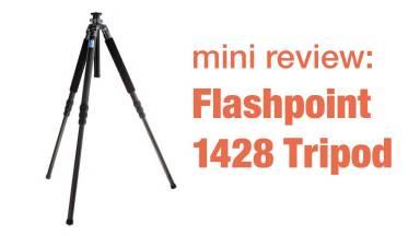 Move Over Induro – Hello Flashpoint – 1428 Tripod Mini Review