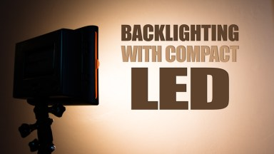 Backlighting with Compact LED Lights