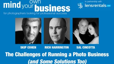 Free Webinar Today — The Challenges of Running a Photo Business (and Some Solutions Too) with Sal Cincotta