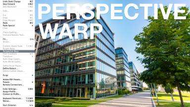 Using Perspective Warp in Photoshop CC 14.2