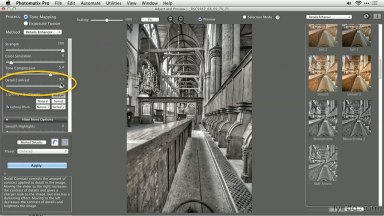 A Black-and-White Workflow with HDR