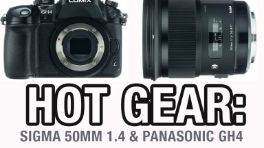 Hot Gear: Sigma 50mm 1.4 and Panasonic GH4