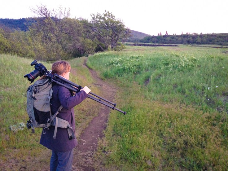 I can safely carry my tripod (with camera attached) when using an L-Bracket.