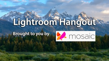 Looking back at our Getting Organized in Lightroom Hangout