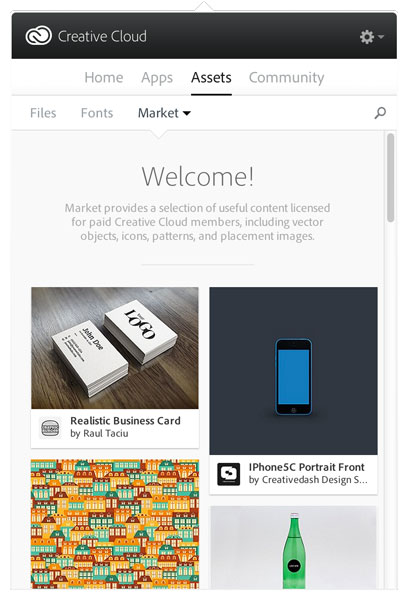 Free Stock Content — New Benefit to Creative Cloud Members