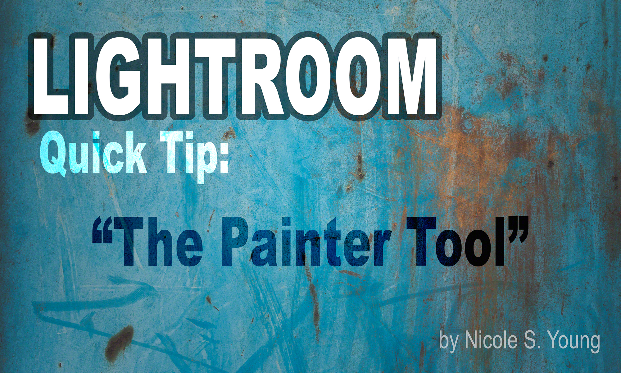 Lightroom Quick Tip: The Painter Tool