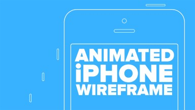 Animated iPhone Wireframe in Photoshop