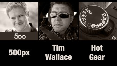 The Founder of 500px , Photographer Tim Wallace, and Hot Gear | Photofocus Podcast 9/25/14