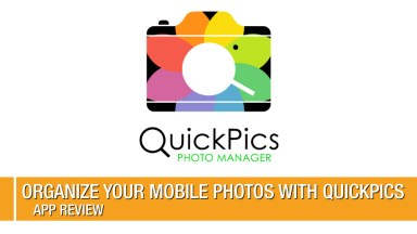 Organize your Mobile Photos with QuickPics