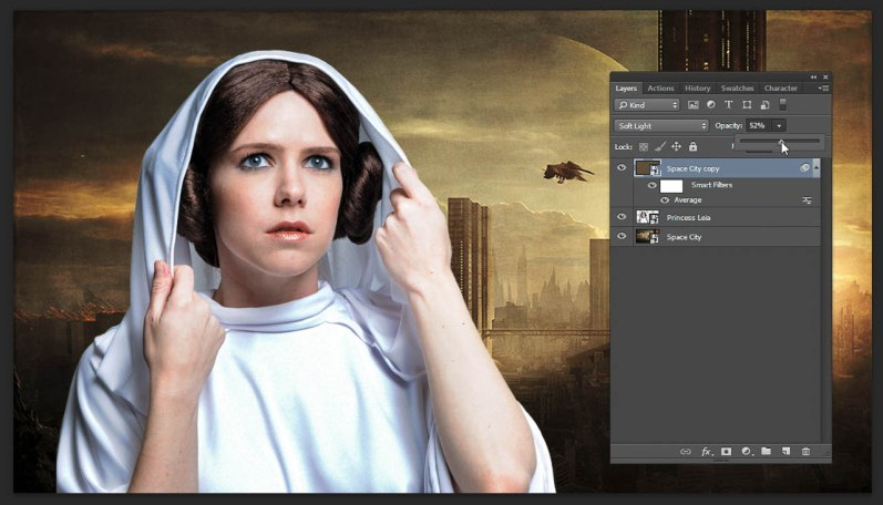 Step 5 Color Match Lower Opacity