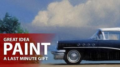 Last minute Gift Idea: Create a Painting