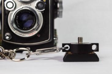 Secure via Carabiner Clip