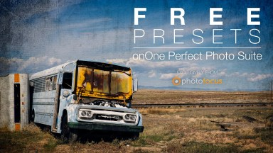 FREE Preset Pack for onOne Software