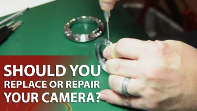 Replace or Repair Your Camera?