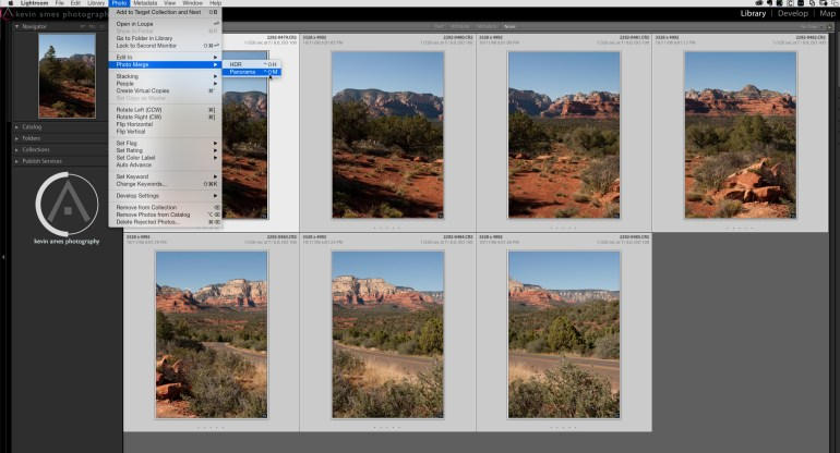 Adding the Shift key to the shortcut Control + M bypasses the Panorama Merge Preview window.