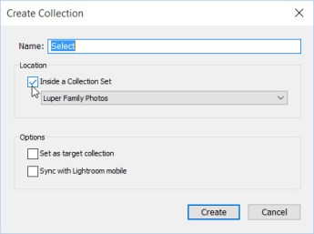 2d Collection name Select