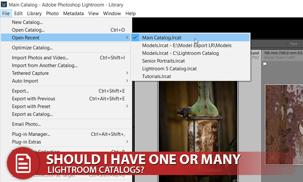 Should I have One or Many Lightroom Catalogs?