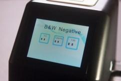 B/W Negative Media