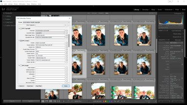 Don't Forget to Update Your Lightroom Copyright Preset
