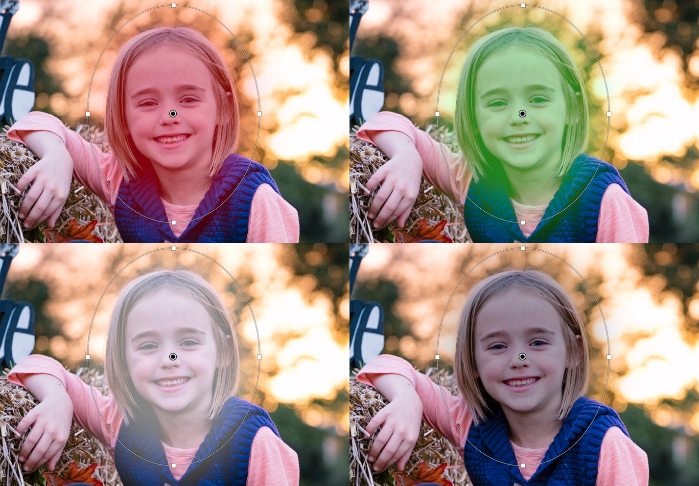 Lightroom Tip: Changing the Mask Overlay Color