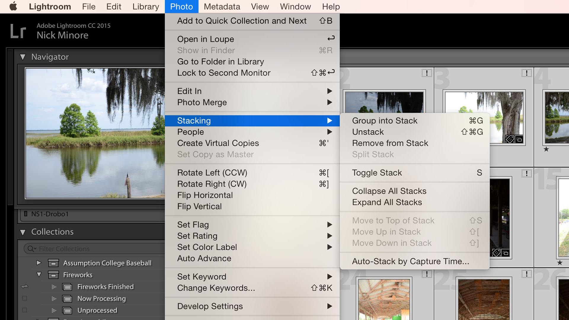 Auto-Stack Images in Lightroom for Easier HDR Processing