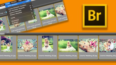 Batch Rename Images Using Adobe Bridge