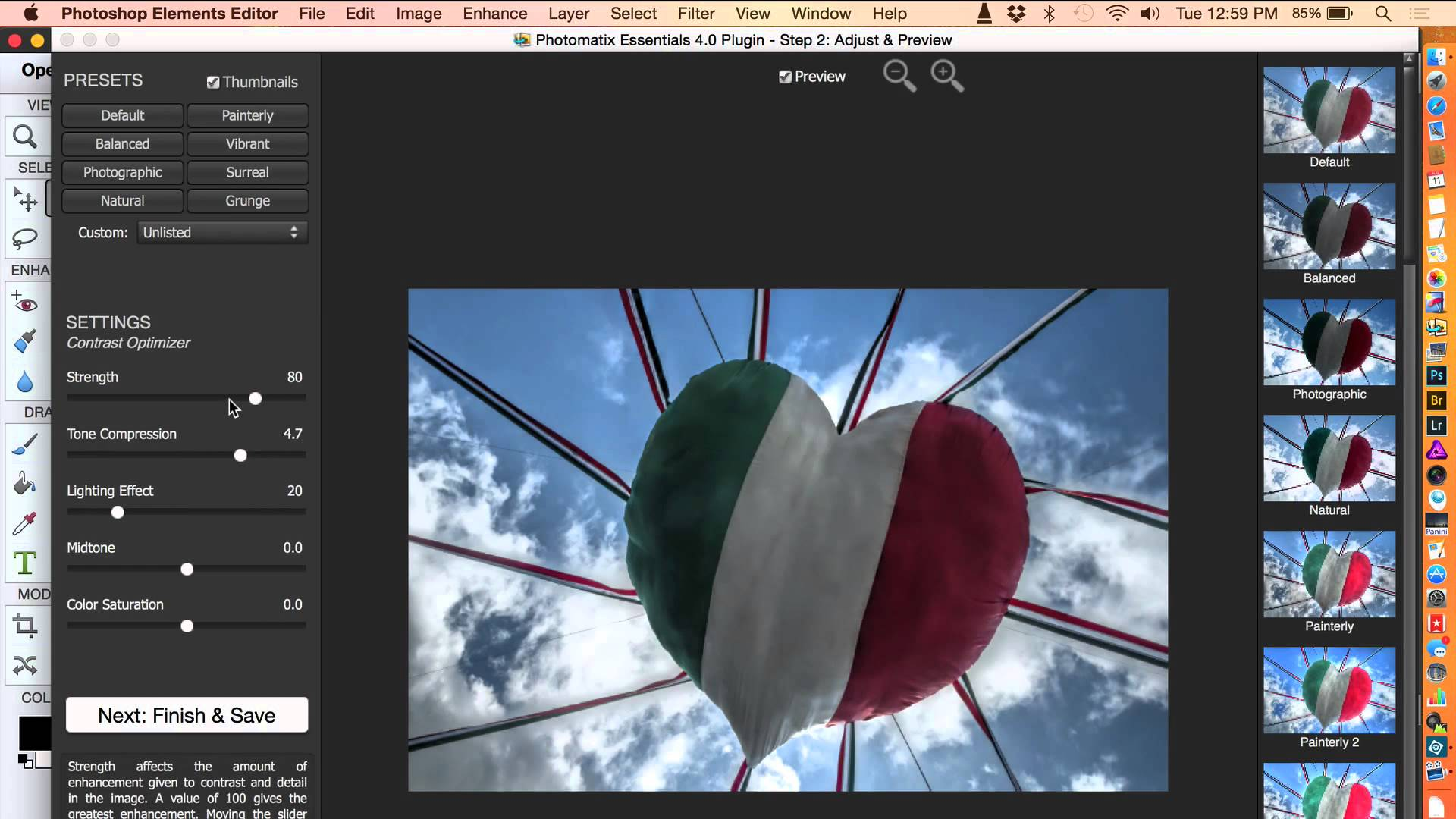 Photomatix Essentials for Photoshop Elements