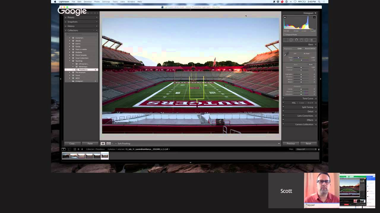 Choosing Between Tone Mapping or Exposure Fusion