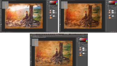 Using Photoshop Art Brush To Make A 'Painted On' Effect