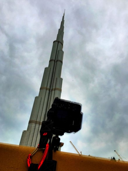 Shooting the Burj Khalifa