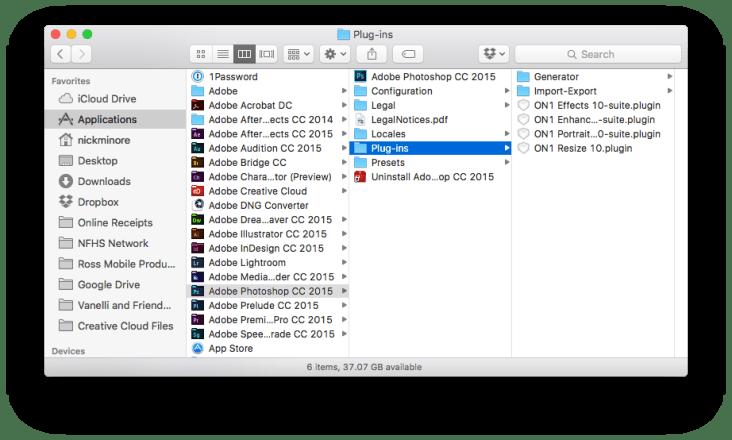 Mac Photoshop Folder