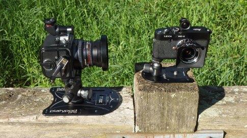Size comparison to original Platypod Pro